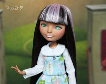 Ever After High Custom Repaint Art doll OOAK Briar Beauty