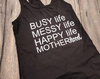 Mom shirt, mom life shirt, motherhood shirt, mother's day gift, Christmas gift, new mom gift, mommy life shirt, busy life shirt