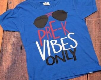 Boys pre k shirt, Pre-K shirt, boys back to school shirt, funny boys shirt, first day of school shirt, boys school shirt