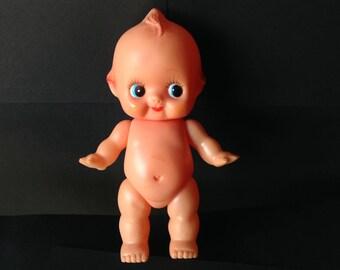 Vintage Kewpie Doll Rubber Squeaky Toy 1960s
