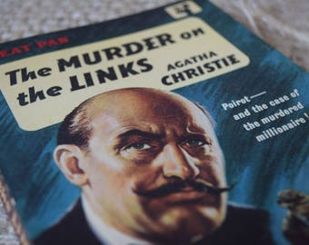 The Murder on the Links. Agatha Christie. The Great Pan Vintage Paperback book.