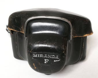 Vintage Camera Case/Half Case Pouch for 1960s Miranda F SLR