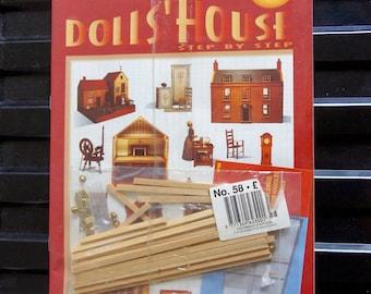 Maison de poupées Vintage Del Prado, étape par étape, Kit, collector, Magazine, N° 58, moulures, poignées, charnières, Kit, Miniatures, artisanat