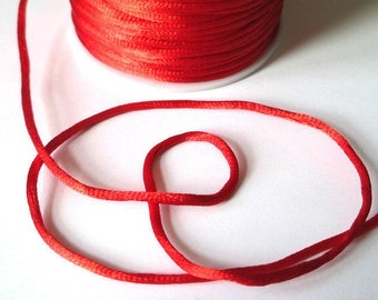 5 m red tail nylon wire 2mm rat