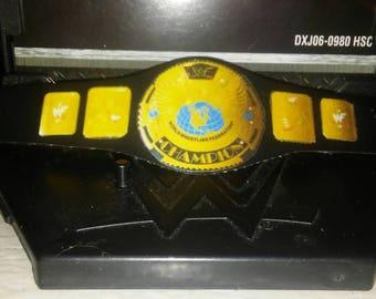 Classic attitude era vinyl title belt