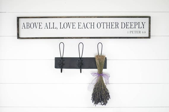 Above All Love Each Other Deeply 1 Peter 48 Wedding Gift