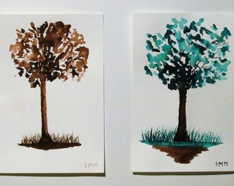 Inked Trees