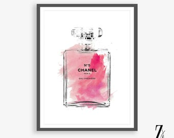 Chanel art, Large Chanel wall art, coco Chanel poster, coco Chanel print, coco Chanel wall art, chanel, Chanel Pink wall art