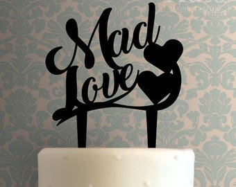 Mad Love Cake Topper 100