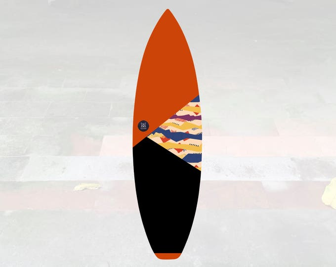 NEW IN   Volcan-Oh   Surfboard Sock   Triangle Lava