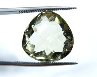 12.60 ct AAA quality lemon quartz cut from africa