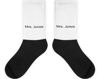 Socks, Bride, Wedding, Engagement, Bridal shower, Honeymoon, Wedding Anniversary