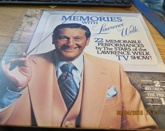 Memories with Lawrence Welk by Lawrence Welk (Vinyl, Ranwood Records)