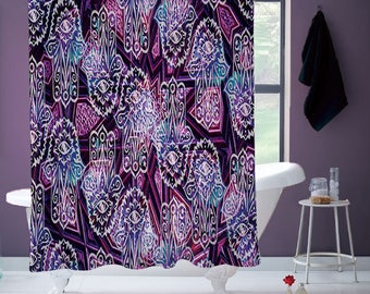 Hamsa Hands Shower Curtain