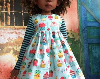 Cupcake dress for Kaye Wiggs MSD
