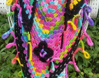MAIA. scarf / shawlette handmade