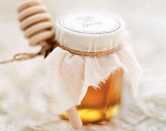25 pcs Bee Happy Honey Favors (40ml / 1.35oz), Honey Wedding Favors, Baby Shower Honey Favors, Honey Favours, Honey Bridal Shower Favors