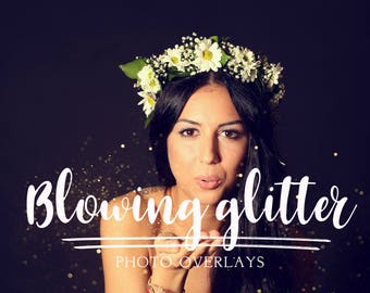 70 pack Blowing Glitter Photoshop Overlays, Confetti Photoshop overlays, photoshop overlay, glitter overlay, glitter photoshop