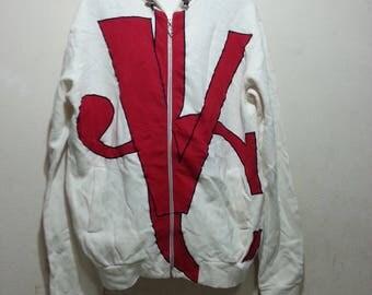 Vintage versace jeans couture men hoodie size XL