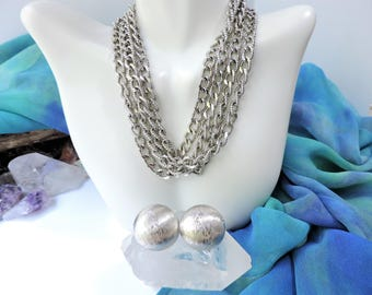 Monet Necklace and Earrings Set/Monet Jewelry lot