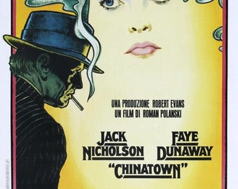 Back to School Sale: Chinatown Movie POSTER (1974) Drama/Thriller