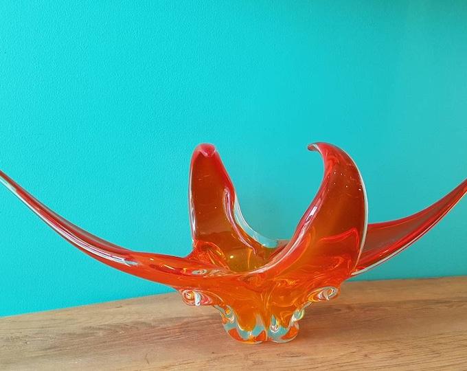 Lorraine Chalet Murano Art Glass Sculpture