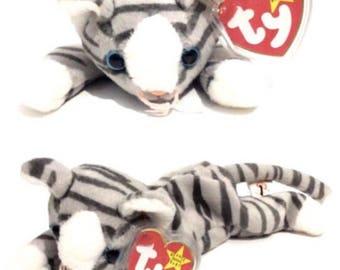 Ty Beanie Babies Kitten Cat Prance