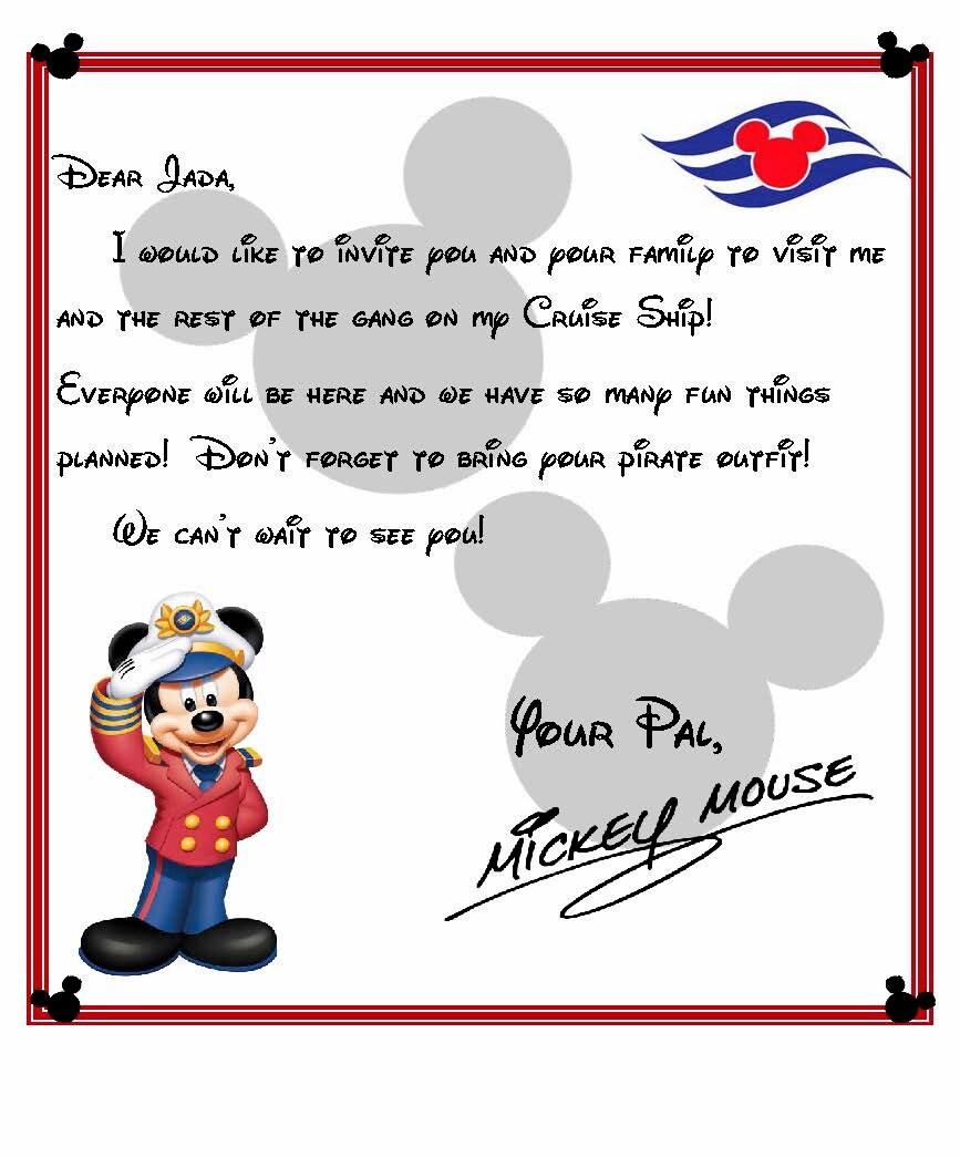 Trip Invitation Letter