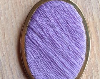 Hand Embroidered Pendant Disney Purple Wall