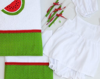 Watermelon Lathopana, Watermelon christening, Greek baptism, Watermelon Ladopana, Oil set, Christening lambada, Christening candle