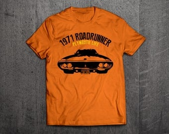 Plymouth roadrunner shirts, Road runner t shirts, Cars t shirts, men tshirts, women t shirts, muscle car shirts classic dodge t shirt