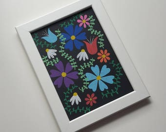 "original illustration ""flower series, pt. I"""