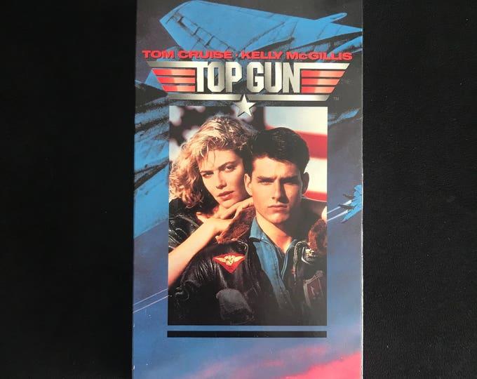 TOP GUN 1986 Vintage Movie VHS