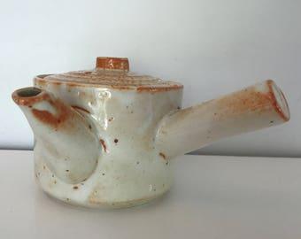 Tokoname Teapot | vintage teapot, tea strainer, tea pot, teapots, ceramic teapot, vintage kettle, tea