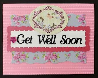 Handmade Card - Get Well Soon