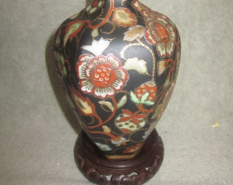 Nippon  Very Rare  Morimura Bros Exported Early 1900s  Vase Rare Green Markings Fantastic Collectible