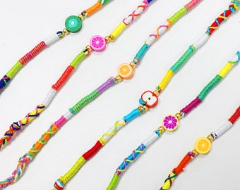 Tropical Punch bracelets
