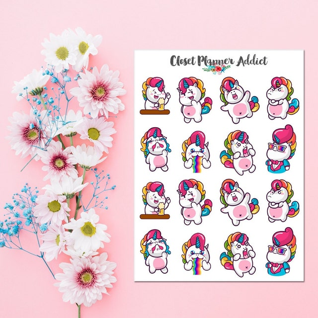 For The Love Of Pretty Stickers And Happy By
