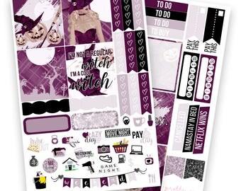 Julie Mini/Horizontal Kit - Planner Stickers