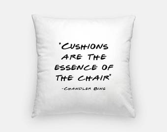 Friends TV Show | Friends TV Show Gift | Friends Show Quotes | Friends Show | Peephole Frame | Chandler Bing | Joey Tribbiani | Pillow