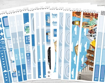"DELUXE KIT | ""Let's Travel The World"" Glossy Kit 