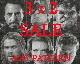 Avengers Pattern Sale!
