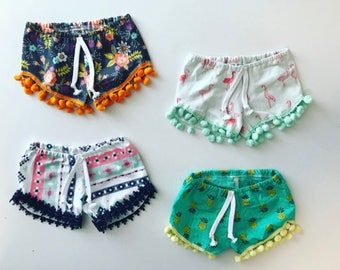 Ready to ship sale baby girl shorts