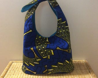 Zuri African Bucket Purse  BP123