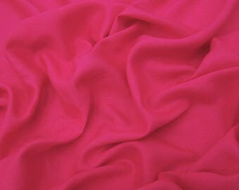 "Indian Fabric, Dress Material, Pink Fabric, Decorative Fabric, Crafting, 39"" Inch Rayon Fabric By The Yard PZBR5S"