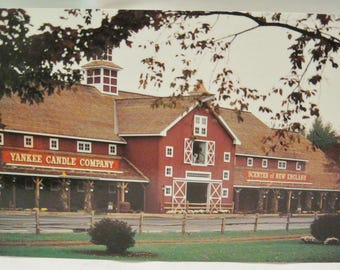 Yankee Candle Company Scenter of New England Postcard