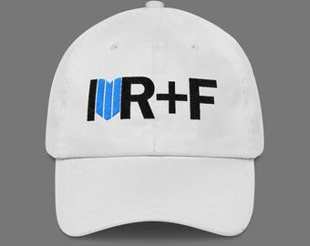White love Rodan And Fields Hat Embroidered, Rodan and Fields Pink Hat Unstructured 6 Panel Made in the USA