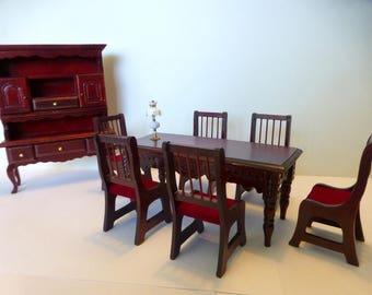 Amazing vintage dining room set