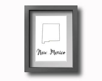 PRINTABLE New Mexico Wall Art
