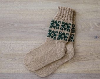 100% Natural Wool Socks (EU 40/US 9)